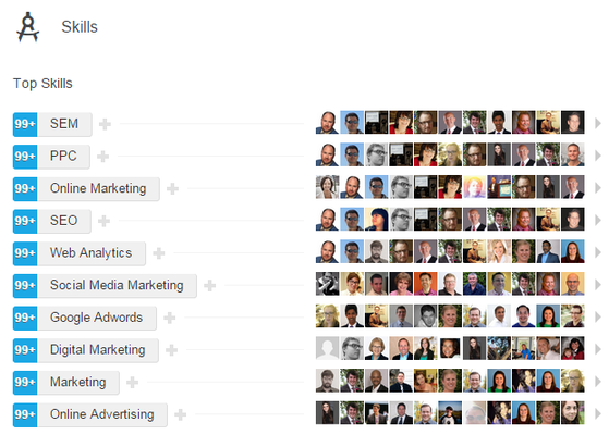 ppc agency strategies screen shot of linkedin recommendations