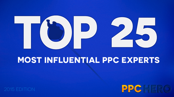 Top 25 PPC Experts 2015