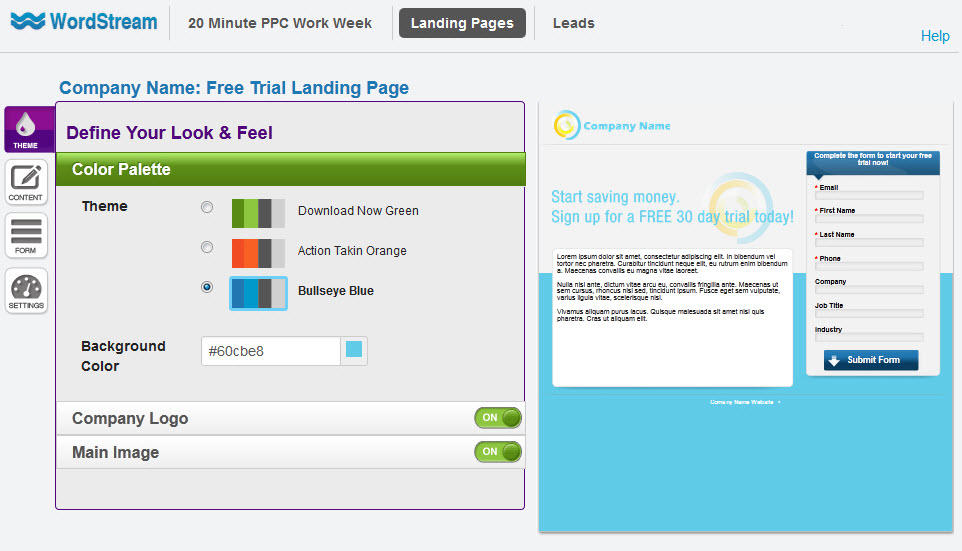 Landing Page Builder
