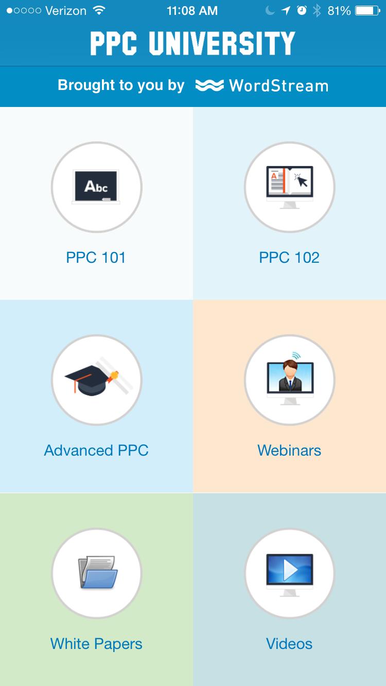 PPC University app