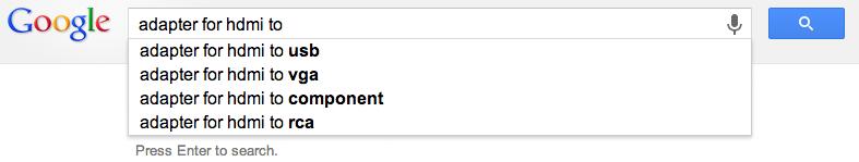 Predictive Search Query