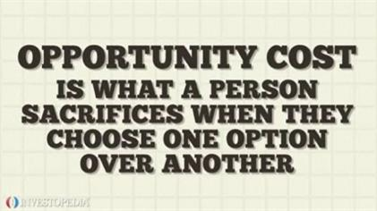 Principles of economics opportunity cost explanation