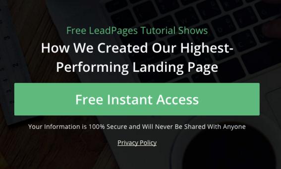 trust symbols for landing pages