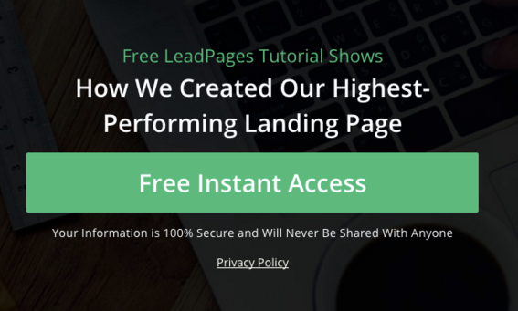 trust symbols for landing pages