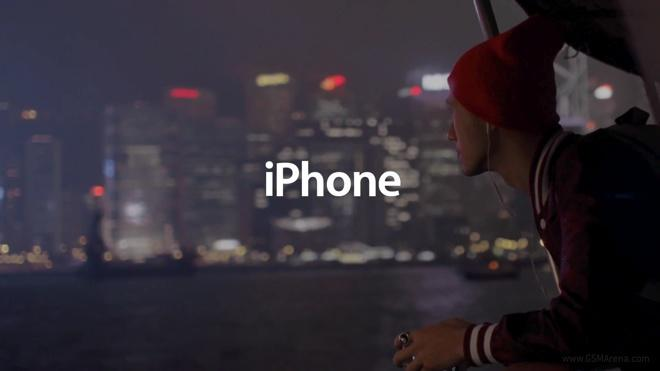 Product marketing iPhone ad