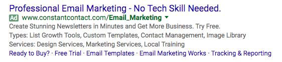 电子邮件营销广告