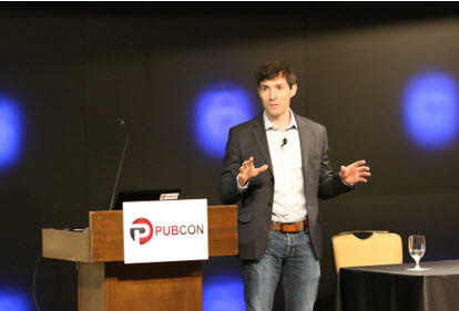 simon bolger at pubcon austin