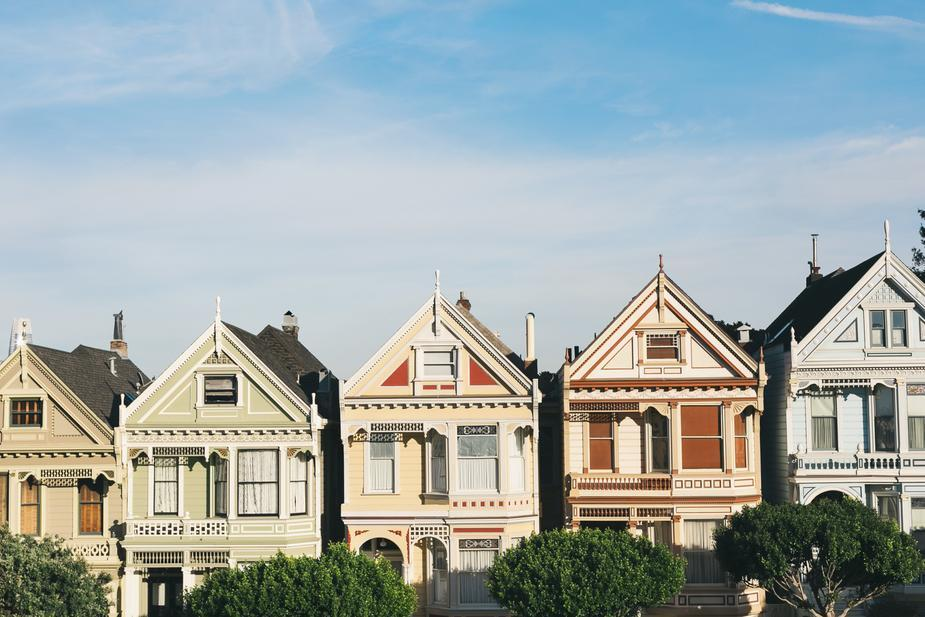 Real estate Facebook ads San Francisco painted ladies houses