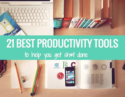 The 21 best productivity tools to add more hours to your day.