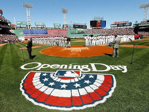 Red Sox Opening Day 2015