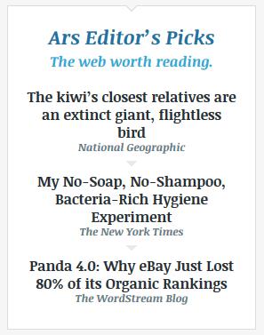 news aggregator link