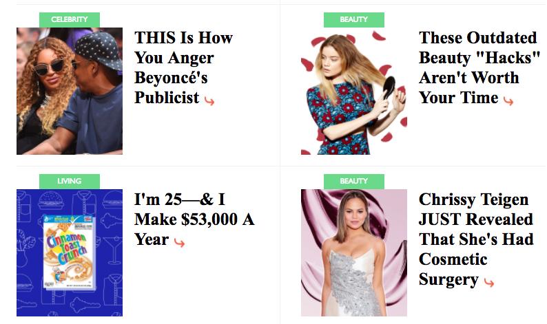extra bold headlines