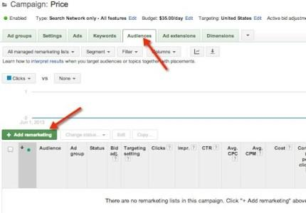 Remarketing Lists for Search Guide