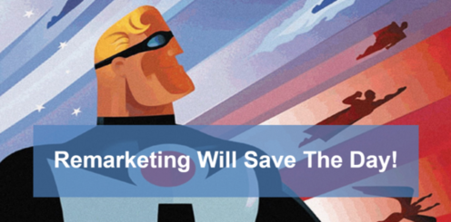 remarketing saves the day