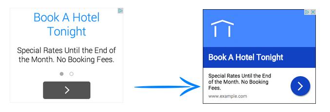 google richer text ads