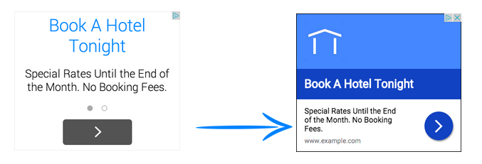google richer text ads
