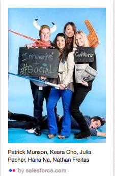 Salesforce Get to Know Employees Pinterest Board