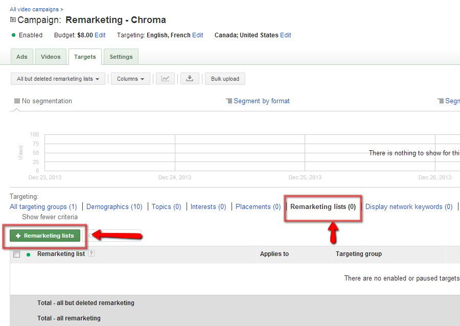 remarketing video tips