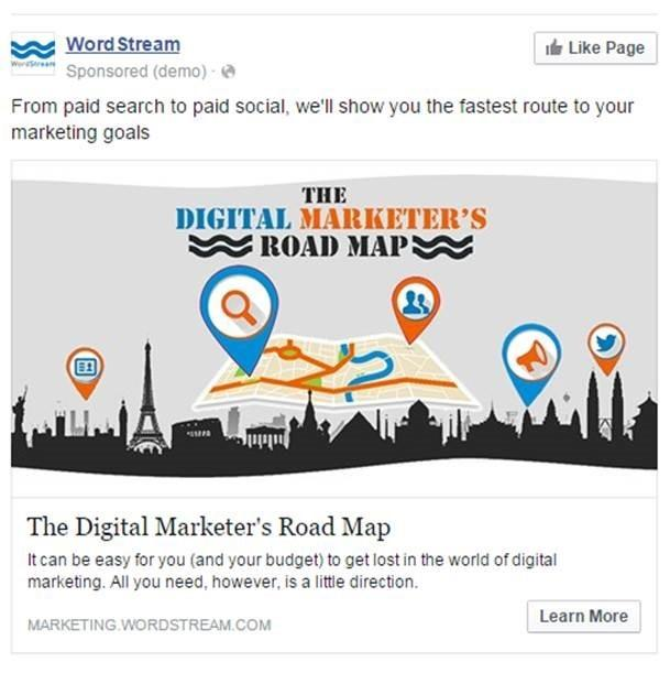 Should I advertise on Facebook ad example