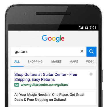 using google for small business advertising