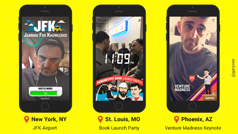 using snapchat geofilters for marketing
