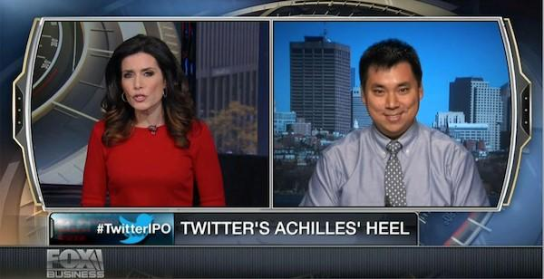 Social media advertising Larry Kim Fox News interview