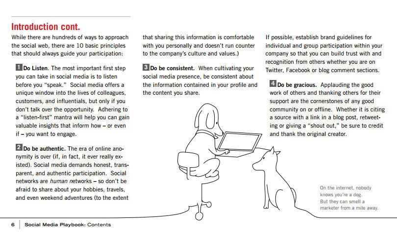 Social media crisis management Eloqua social media playbook example