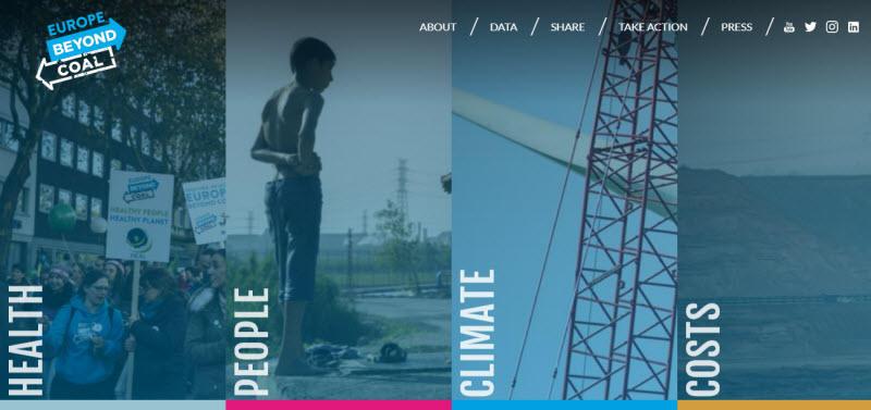 Social media for nonprofits Beyond Coal Sierra Club homepage