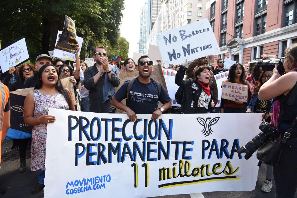 Social media for nonprofits Movimiento Consecha protest