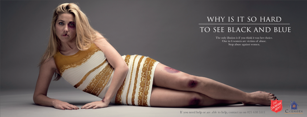 Social media for nonprofits provocative controversial Salvation Army domestic abuse ad example