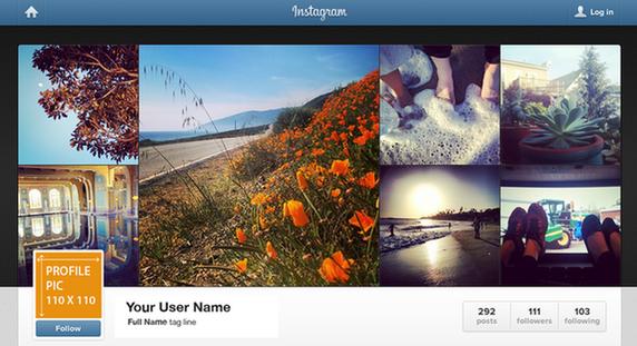 social media image sizing guide 2014