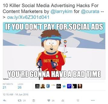 Killer Social Media Advertising Hacks