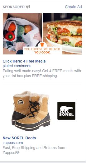 social media marketing plan remarketing ads on my facebook