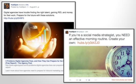 social tips for blogging