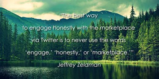 Social media quotes Jeffrey Zeldman