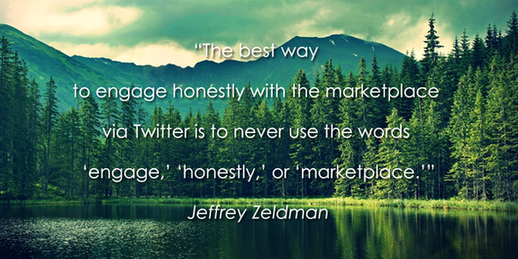 Social media quotes Jeffrey Zeldman