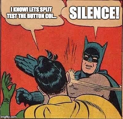 Split test Batman meme