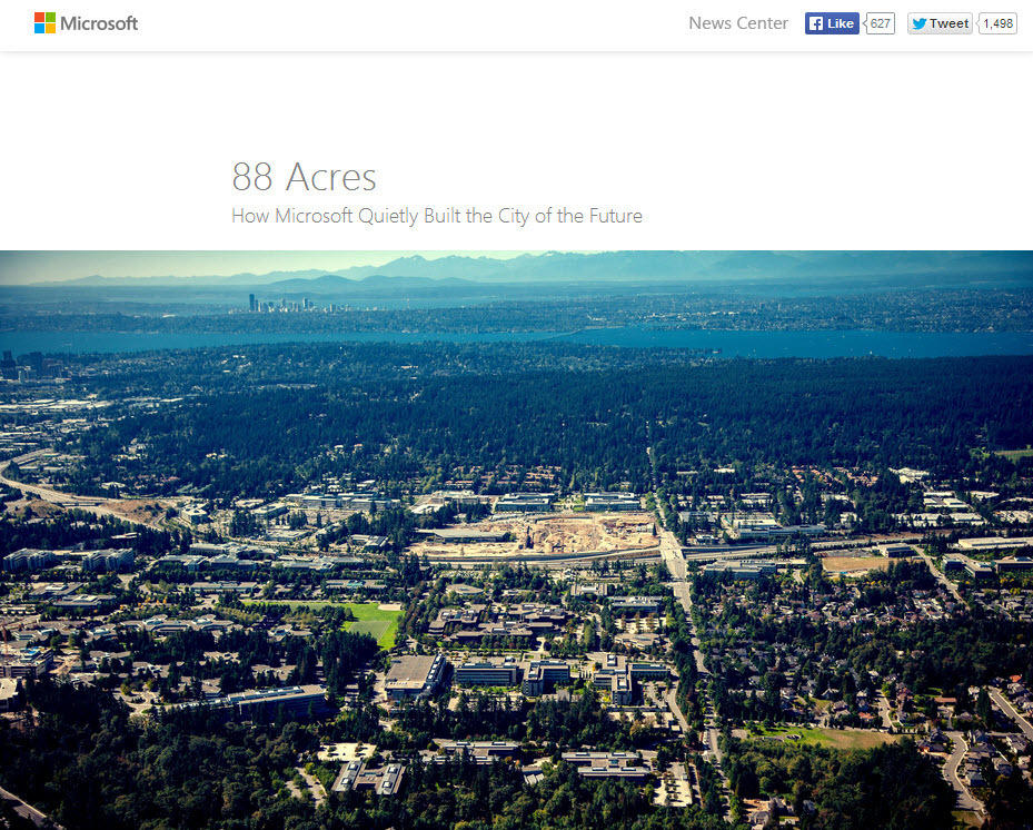 Storytelling in content marketing Microsoft 88 Acres