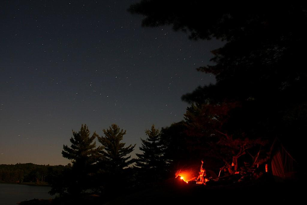 Storytelling in content marketing campfire