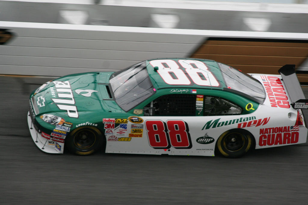 Storytelling in content marketing NASCAR