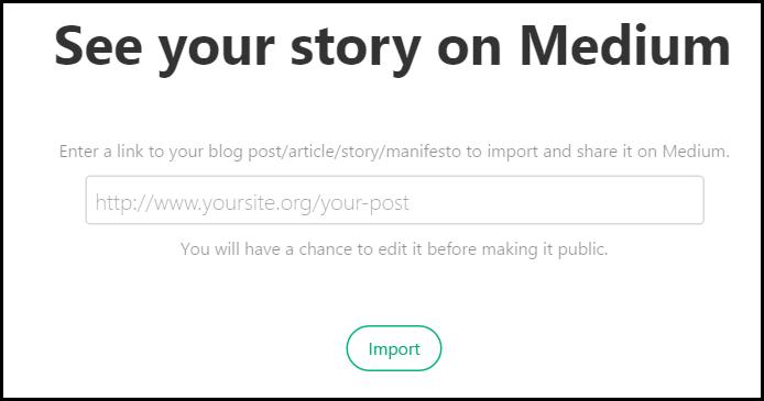 syndicating on medium