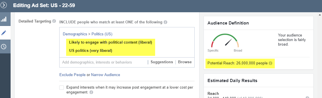 how to target the right facebook audience