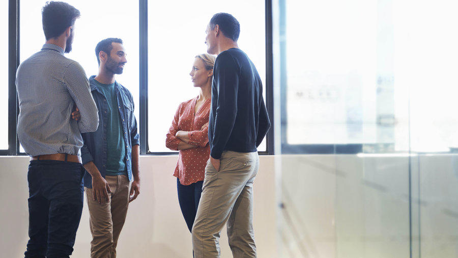 Time management tips have standing meetings