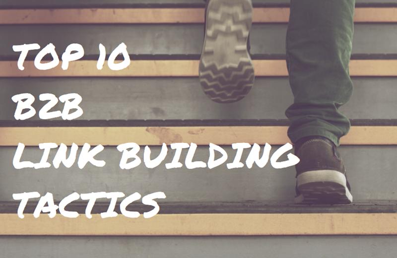b2b link building tactics