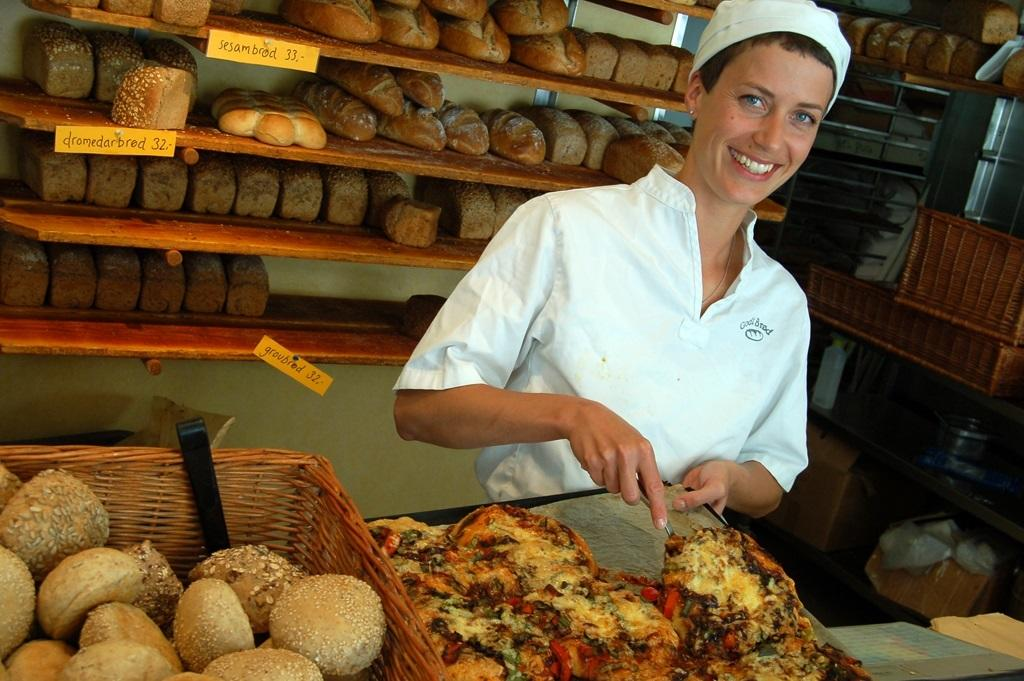 travel marketing image of a baker