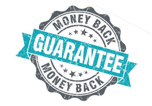Trust signals guarantee logo