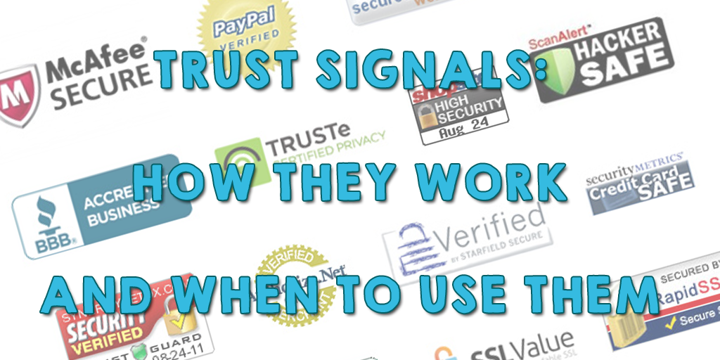 Trust signals and how to use them