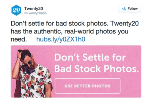 top twitter ad examples