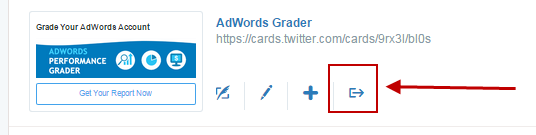 Twitter ads download leads