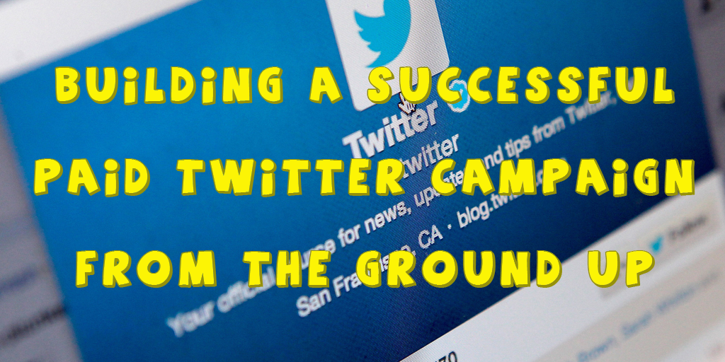 Building a paid Twitter campaign title image